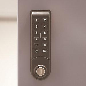 Elektronisch slot E10 voor kleerkasten uit één stuk