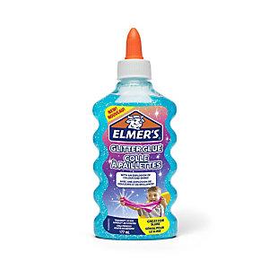 ELMER'S Colla Glitterata Liquida, Flacone da 177 ml, Blu