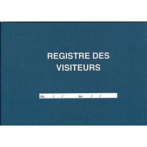 ELVE Registre des visiteurs 21 x 29,7cm 96 pages