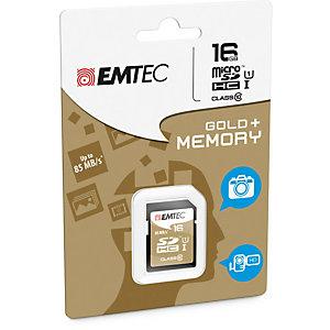 Emtec - SDHC Class 10 Gold + - ECMSD16GHC10GP - 16GB