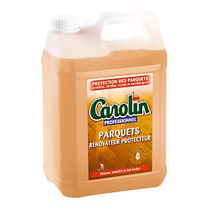 Emulsion autolustrant Carolin professionnel parquets 5 L