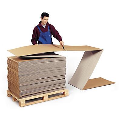 Endeløse kasser i dobbelt bølgepap