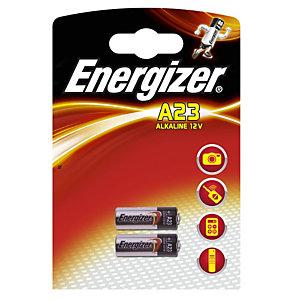 Energizer Batterie non ricaricabili Alcaline A23/E23A, Confezione da 2 (confezione 2 pezzi)
