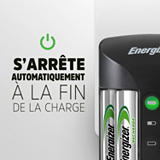 Energizer Cargador Pro cargador para pilas AA y AAA + 4 pilas AA 2000mAh