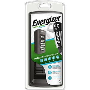 Energizer Chargeur de piles universel pour format AA - AAA - C - D - 9V