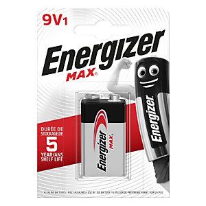 Energizer Max, Batteria alcalina, Non ricaricabile, 9 V