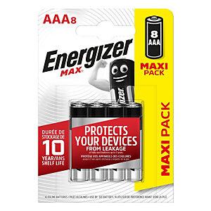 Energizer Max, Batterie alcaline, AAA, Non ricaricabili (confezione 8 pezzi)