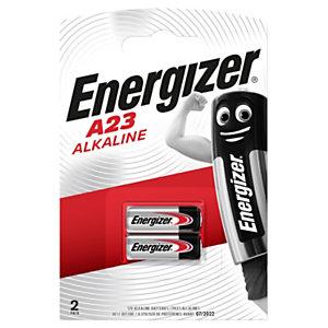 Energizer Miniature Alkaline A23/E23A No recargables Pilas Paquete de 2