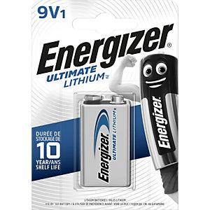 Energizer Pile 9V Ultimate Lithium