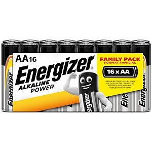 Energizer Pile alcaline AA / LR6 Power - Lot de 16