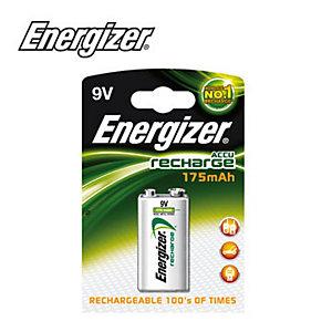 Energizer Pile ricaricabili - Transistor Power Plus - Corrente mAh 175 - Volt 9