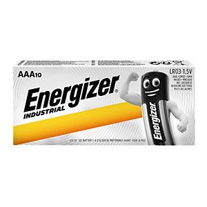 Energizer Tender Industrial Batterie alcaline non ricaricabili, AAA/LR03 da 1,5 V