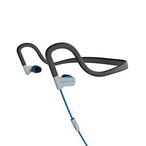 Energy Sistem 429370, Alámbrico, gancho de oreja, Dentro de oído, Binaural, Intraaural, 20 - 20000 Hz, Azul