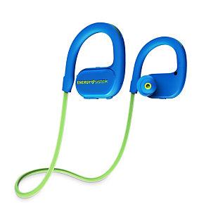 Energy Sistem BT Running 2 Neon, Inalámbrico, gancho de oreja, Banda para cuello, Binaural, Intraaural, 20 - 20000 Hz, Azul, Verde 448913