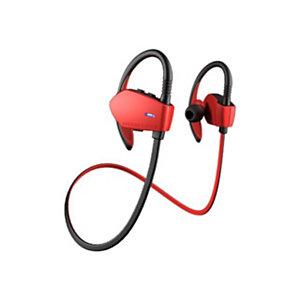 Energy Sistem Energy Earphones Sport 1 Bluetooth, Inalámbrico, gancho de oreja, Binaural, Intraaural, 20 - 20000 Hz, Negro, Rojo 427758