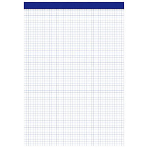 ENRI Bloc sin tapa, Folio, cuadriculado, 80 hojas