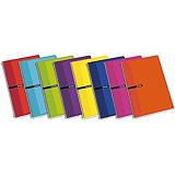 ENRI Profesional Cuaderno, Folio, cuadriculado, 100 hojas, cubierta blanda cartón, colores surtidos