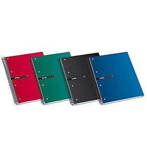 ENRI Status Cuaderno, A4+, cuadriculado, 160 hojas, cubierta extradura cartón, colores surtidos