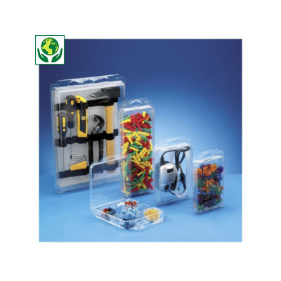 Envase blíster de plástico BLIBOX