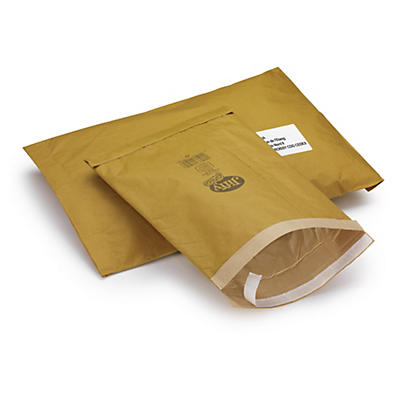 Envelope almofadado de papel Jiffy Green