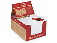 Envelope auto-adesivo Pack List com mensagem RAJALIST