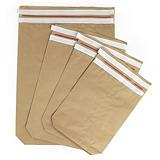 Envelope de papel kraft com dupla banda adesiva
