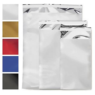 Envelope de plástico metalizado