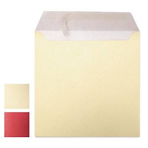 Enveloppe carrée couleur irisée auto-adhésive sans fenêtre 120g/m²