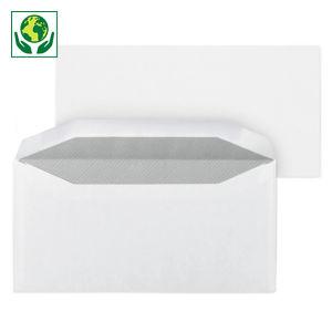 Enveloppe commerciale mécanisable vélin extra-blanc patte gommée 80 g/m²