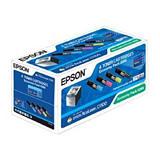 Epson 0268, C13S050268, Tóner Original, Negro, Amarillo, Cian, Magenta