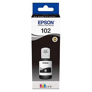 Epson 102 Recharge d'encre originale EcoTank (C13T03R140) - Noir