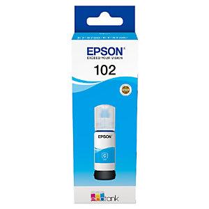 Epson 102 Recharge d'encre originale EcoTank (C13T03R240) - Cyan
