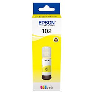 Epson 102 Recharge d'encre originale EcoTank (C13T03R440) - Jaune