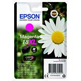 Epson 18XL, C13T18134012, Cartucho de Tinta, Claria Home, Margarita, Magenta, Alta capacidad
