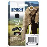 Epson 24, C13T24214012, Cartucho de Tinta, Claria Premium, Elefante, Negro