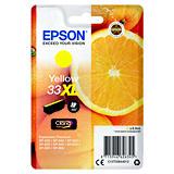Epson 33XL, C13T33644012, Cartucho de Tinta, Claria Premium, Naranja, Amarillo, Alta Capacidad