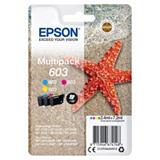 Epson 603, C13T03U54010, Cartucho de Tinta, Estrella de mar, Cian, Magenta, Amarillo, Multipack