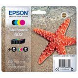 Epson 603, C13T03U64010, Cartucho de Tinta, Estrella de mar, Cian, Magenta, Amarillo, Negro, Multipack
