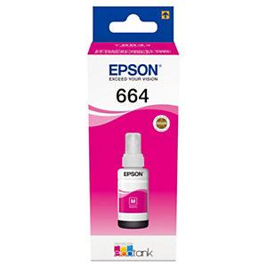 Epson 664 Recharge d'encre originale EcoTank (C13T664340) - Magenta