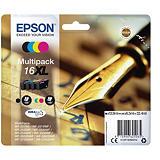Epson Cartouche d'encre DURABrite Ultra 16XL (Multipack) Noir, Cyan, Magenta, Jaune