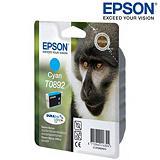 Epson Cartuccia inkjet Serie Scimmia T0892, C13T08924011, Ciano, Pacco singolo