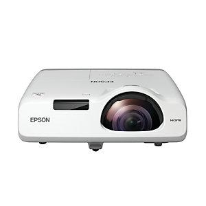 "Epson EB-L200SW, 3800 lúmenes ANSI, 3LCD, WXGA (1280x800), 2500000:1, 16:10, 1346,2 - 3048 mm (53 - 120"") V11H993040"
