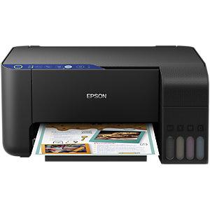 Epson Ecotank ET-2711, Impresora multifunción de inyección de tinta a color, conexión Wi-Fi, A4 (210 x 297 mm)