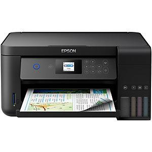 Epson EcoTank ET-2751, Jet d'encre, Impression couleur, 5760 x 1440 DPI, Numérisation couleur, A4, Noir C11CG22405