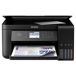 Epson EcoTank ET-3700, Impresora multifunción a color, Inalámbrica, A4