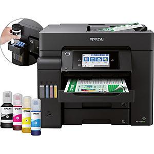 Epson EcoTank ET-5850, Jet d'encre, Impression couleur, 4800 x 2400 DPI, A4, Impression directe, Noir C11CJ29401