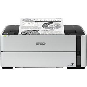 Epson EcoTank EcoTank ET-M1180, 5000 páginas por mes, 1200 x 2400 DPI, PCL 5e, 200 - 1000 páginas por mes, 3 usuario(s), Negro C11CG94402