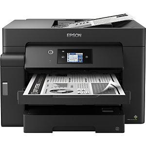 Epson EcoTank Imprimante monochrome ET-M16600, Jet d'encre, Impression mono, 4800 x 2400 DPI, Copie simple, A3, Noir C11CJ41401