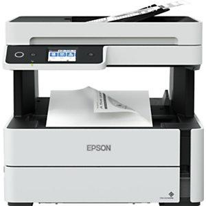 Epson EcoTank ET-M3180, Jet d'encre, Impression mono, 1200 x 2400 DPI, A4, Impression directe, Noir, Blanc C11CG93402