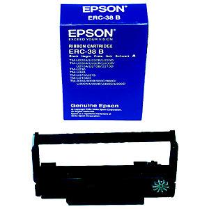 Epson ERC 38B Ruban d'impression C43S015374 - Pack de 1 - Noir